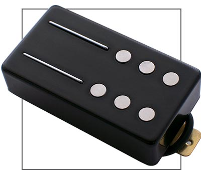 Railhammer Humbucker Chisel Guitar Neck Pickup